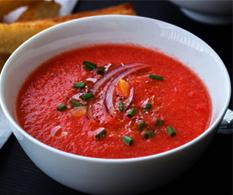 Томатный холодный суп