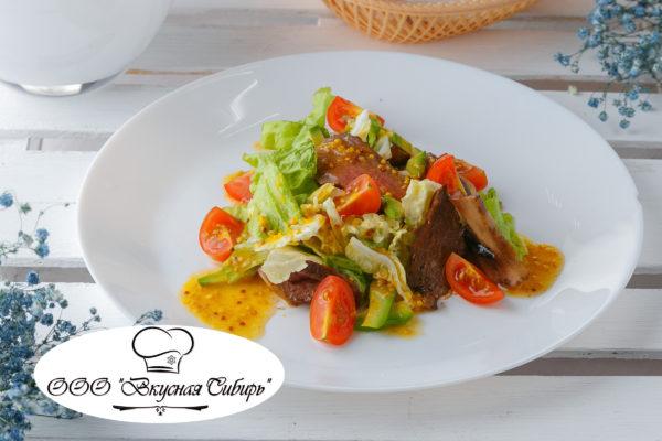 Салат с ростбифом и авокадо - 207