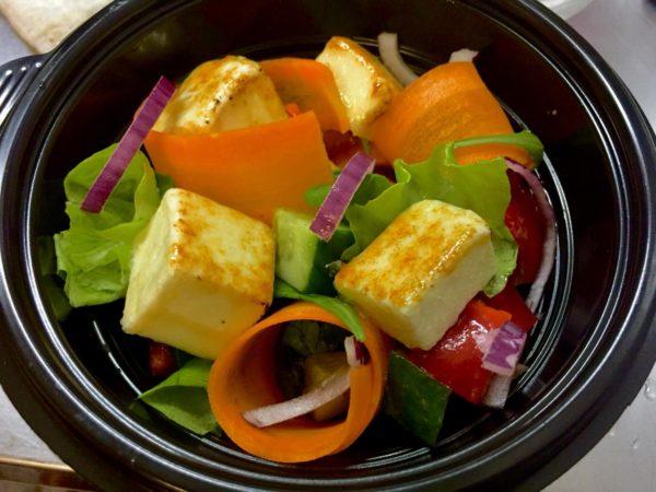 Салат с карамелизированным сыром - 192