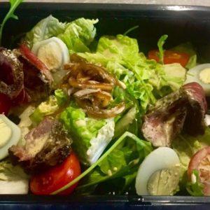 Грин-салат с ростбифом
